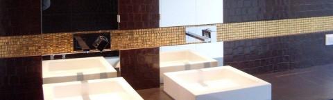 Betegeling van badkamers